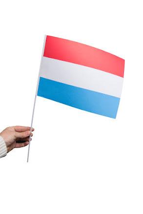 Pappersflagga, Luxemburg