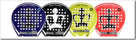 La colección 2016 BLACK CROWN está compuesta por los modelos DARK (azul), WINNER (negra), FREE (Lima Flúor), JET (anaranjada).