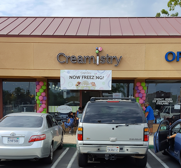 photo of the outside of Creamistry