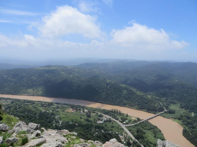 uitzicht vanaf de Airstrip, Port St. Johns - East Cape, Zuid Afrika