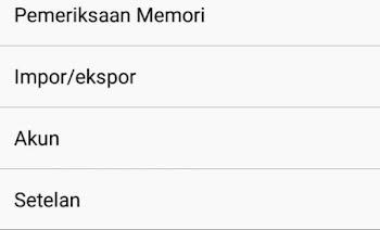Agar kontak whatsapp tampil di lenovo a6000 plus setelah upgrade lollipop