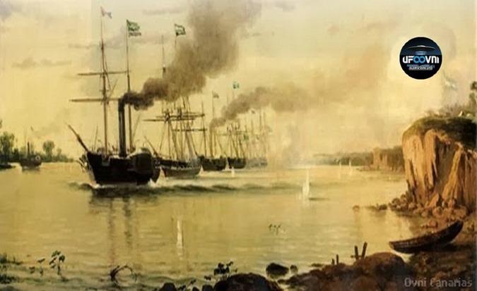 Primeiro relatório oficial de OVNI no Brasil de 1846