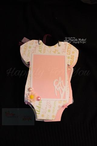 onesie baby album
