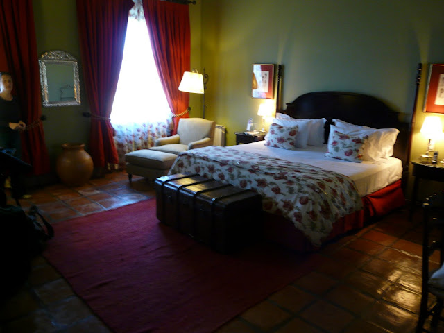 Our hotel room in Cafayate:  Patios at Cafayate, a Starwood hotel that accepts SPG points!