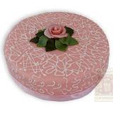 11. kép: Karácsonyi torták - Marcipán rózsás torta