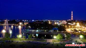 Hình ảnh đẹp của thành phố cao lãnh tỉnh Đồng Tháp