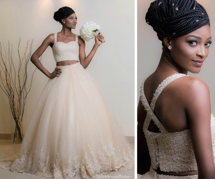 South African Traditional Wedding Dresses Designs 5