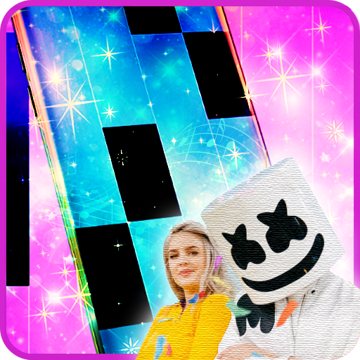 Friends - Marshmello & Anne-Marie Piano Tiles
