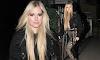 Avril Lavigne muestra su estilo rocker chic  con animal print
