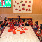 RED DAY CELEBRATION(2017-18) BY NURSERY AT WITTY WORLD, BANGUR NAGAR