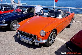 Orange MGB