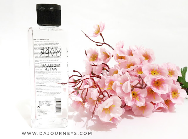 [Review] Micellar Water dari Make Over