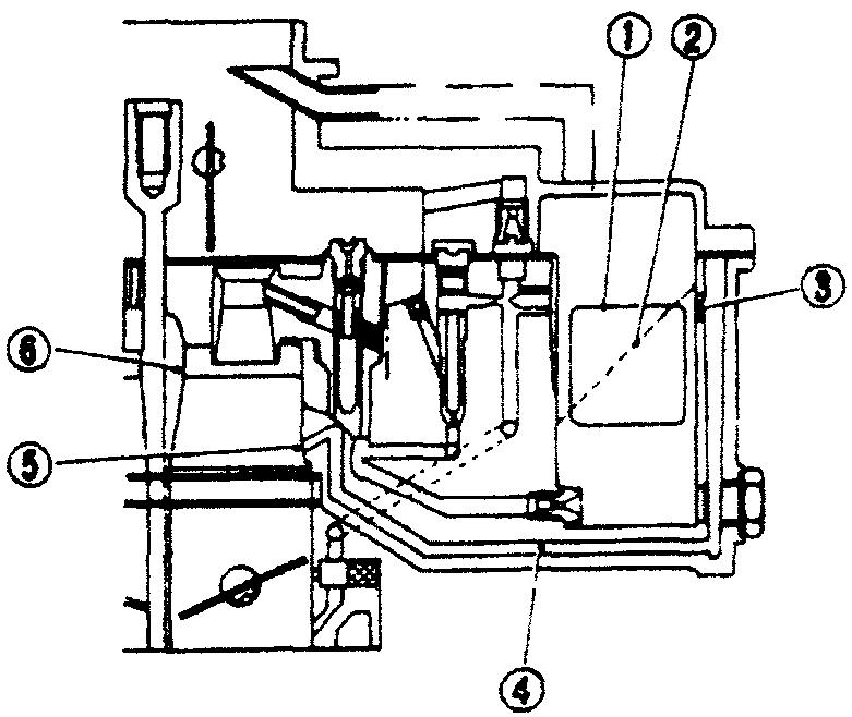 Схема системы подачи дополнительного количества топлива