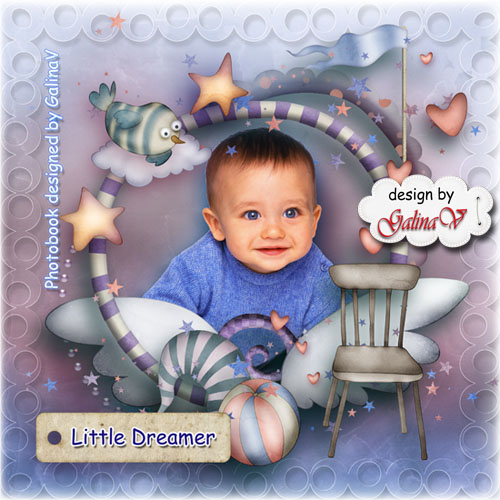 Photobook for Baby Boy - Little Dreamer