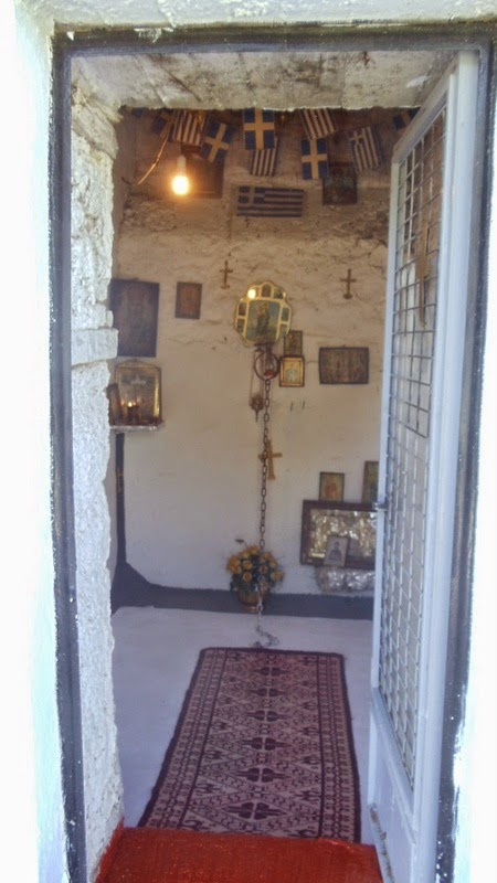 Εκκλησία Αγίου Νικολάου Φήκης (Κελί που θεραπευόταν οι ψυχικά ασθενής)