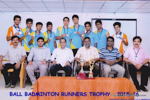 Ball Badminton Runners trophy 2015-16