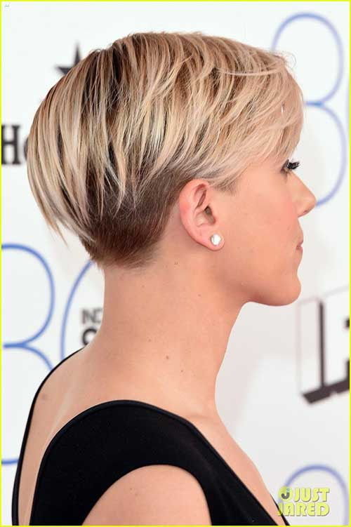 unique short hairstyles : continued bobs, abbreviate ancillary absurd haircuts, brownie styles ...