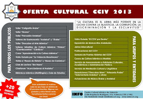 Actividades Culturales 2013. Centro Cultural Islámico de Valencia