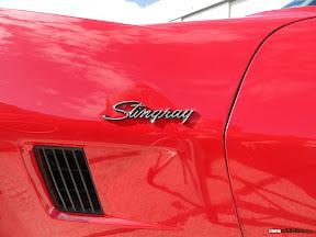Corvette Stingray Side vents
