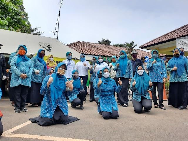 Pelantikan Ketua Jabar Bergerak Tingkat Kota Bekasi