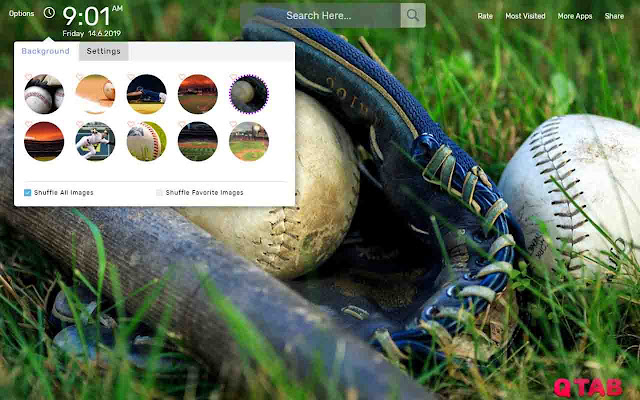 Baseball Wallpapers New Tab Theme