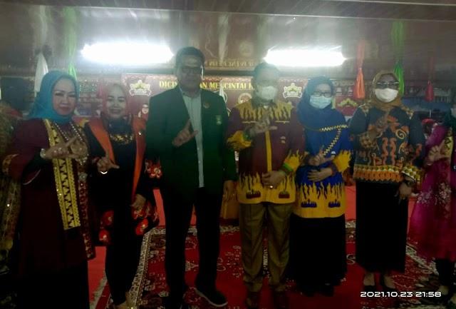 PP dan Pengda Srikandi TP Sriwijaya Berkunjung ke LGK