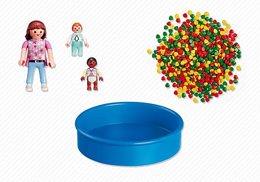 Contenido real de Playmobil® 5572 Piscina de Bolas