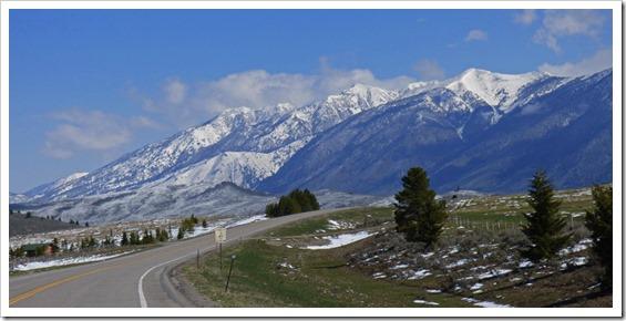 View along Idaho Highway 87