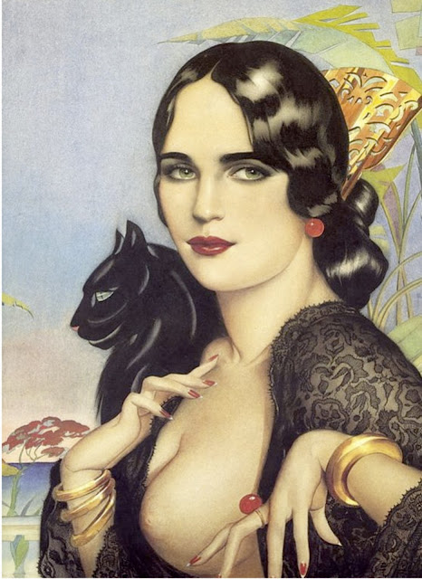 vargas illustrations vintage