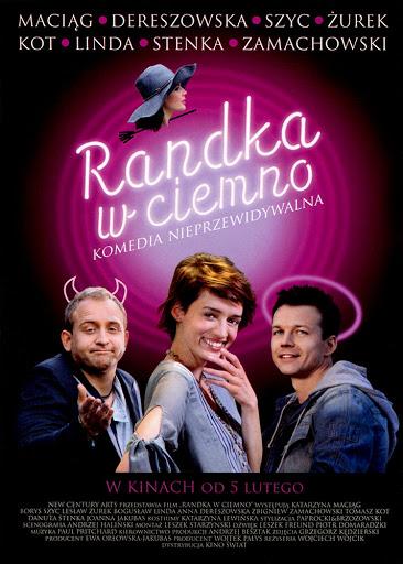 Przód ulotki filmu 'Randka W Ciemno'