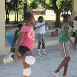 Haitian girls' volleyball team