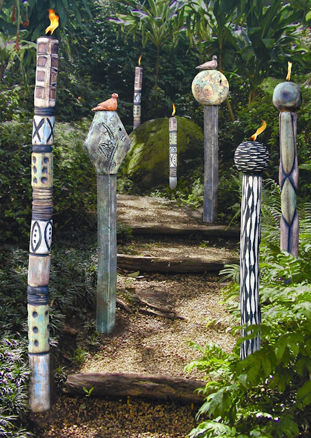 Meandering paths wander through the peaceful landscape of Big Rock Garden Park, where nature and art compliment each other. Credit: Bellingham Whatcom County Tourism