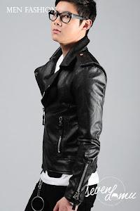 seven domu korean style biker jacket sk19 4