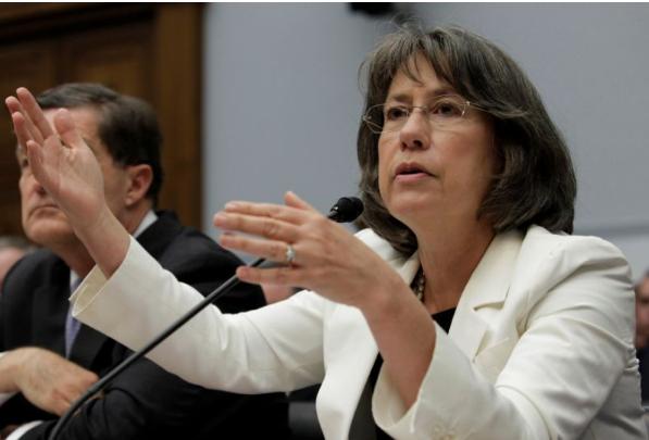 Former FDIC director Sheila Bair on Capitol Hill in Washington June 26, 2013. REUTERS/Yuri Gripas
