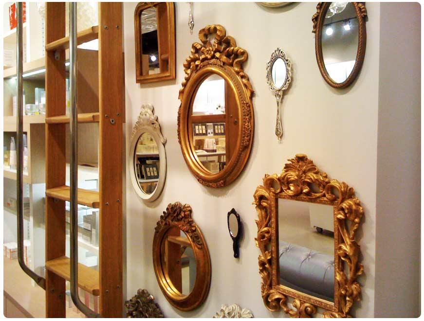 Create A Vintage Mirror Wall