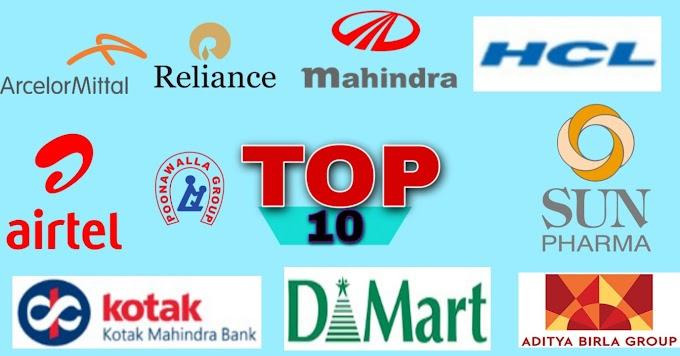 भारत के 10 सबसे बड़े अरबपति 2021 Top ten Billionaire 2021