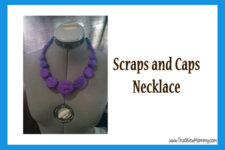 ThatNewMommy Makes - Scraps and Caps Necklace