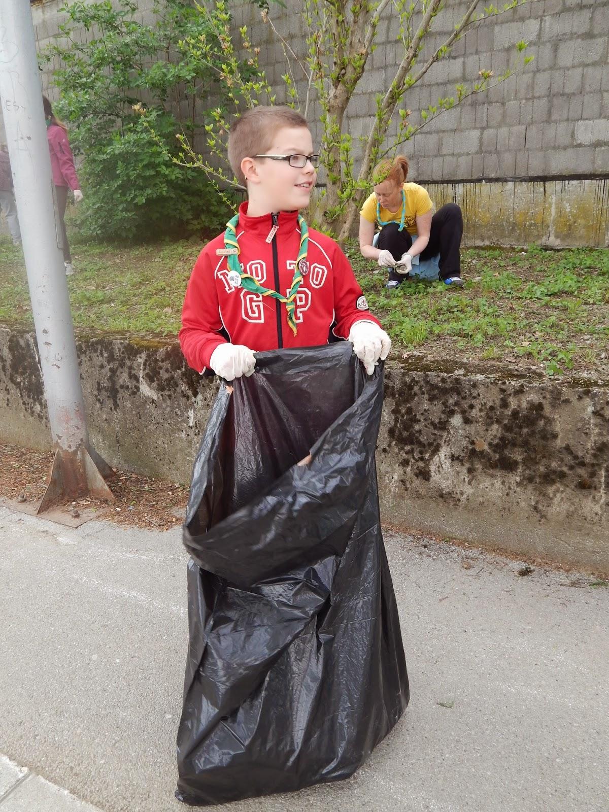 Čistilna akcija 2014, Ilirska Bistrica 2014 - DSCN1698.JPG