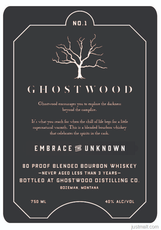 Ghostwood Embrace The Unknown Blended Bourbon