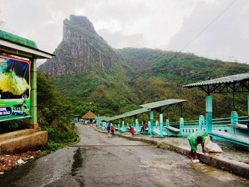 Parkir Wisata Gunung Kelud Indonesia