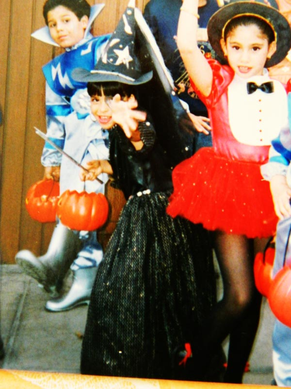 halloween costume from the past