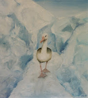 'Albatros', Öl auf Leinwand, 50x60, 2000, verkauft