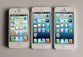 iPod touch第5世代、iPhone5、iPhone4S