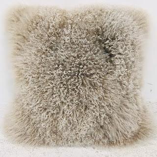 Chesterfield Tibetan Lamb Pillow #2