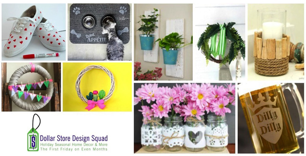 Spring Dollar Store Projects