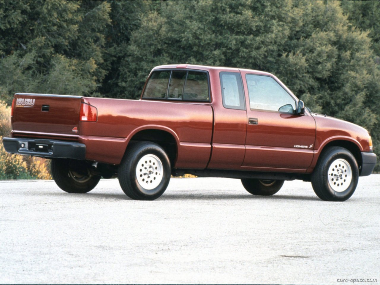 1998 Isuzu Hombre XS Extended Cab Pickup 2.2L 4-cyl. 5-speed Manual