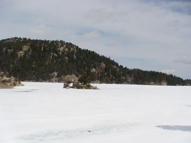 El lago de la Pradella