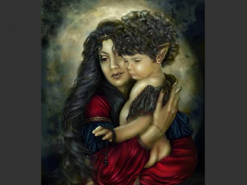 Vampire Mother And Baby, Vampire Girls 2