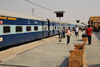After arriving in Delhi we experienced Indian train travel for the first time with a trip to Jaisalmer.