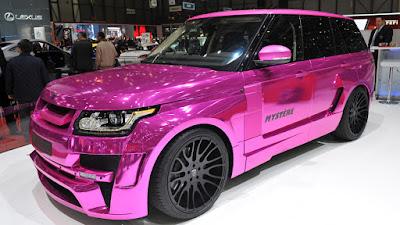 Luxury Range Rover Vogue Hamann Mystere